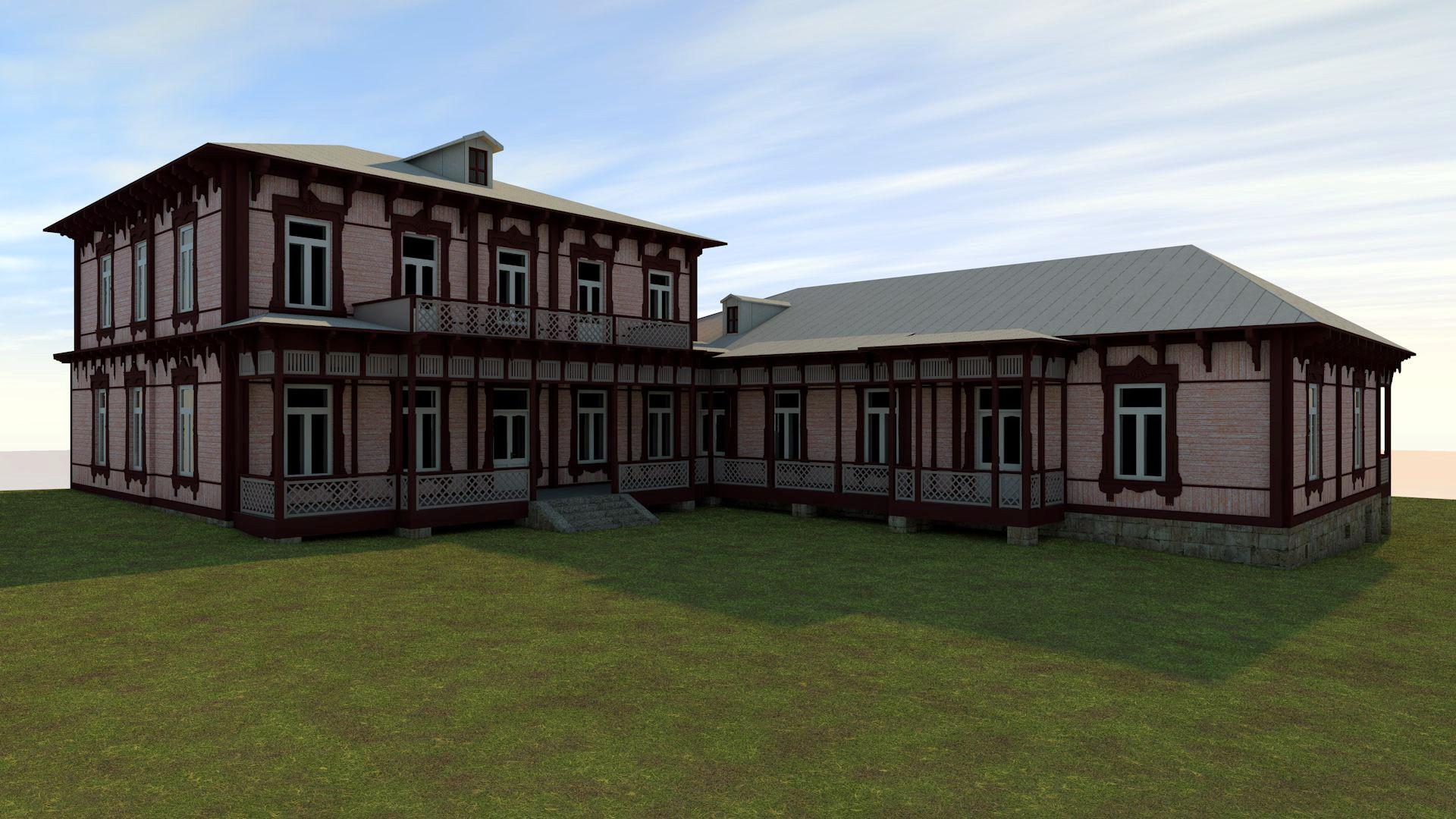 Adigeni Municipality, Abastumani Settlement, Rehabilitation Project of Former Romanov Middle Palace located on Paliashvili Street N24a